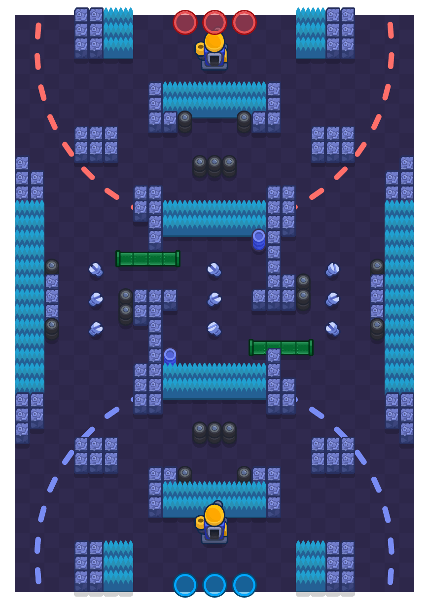 Ramificação is a Encurralado map in Brawl Stars.