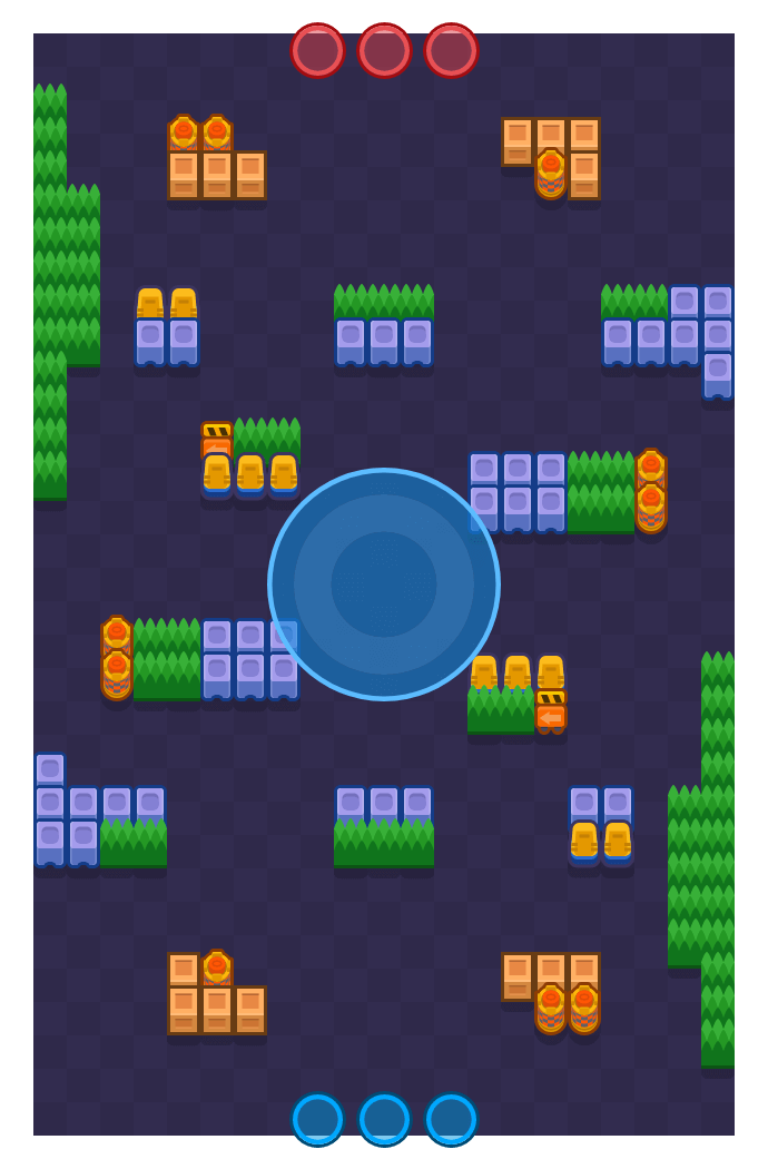 Open Business is a Hot Zone map in Brawl Stars.