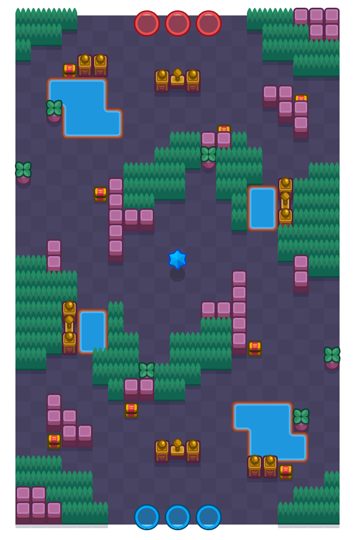 Overgrown Snowtel is a Bounty Brawl Stars map. Check out Overgrown Snowtel's map picture for Bounty and the best and recommended brawlers in Brawl Stars.