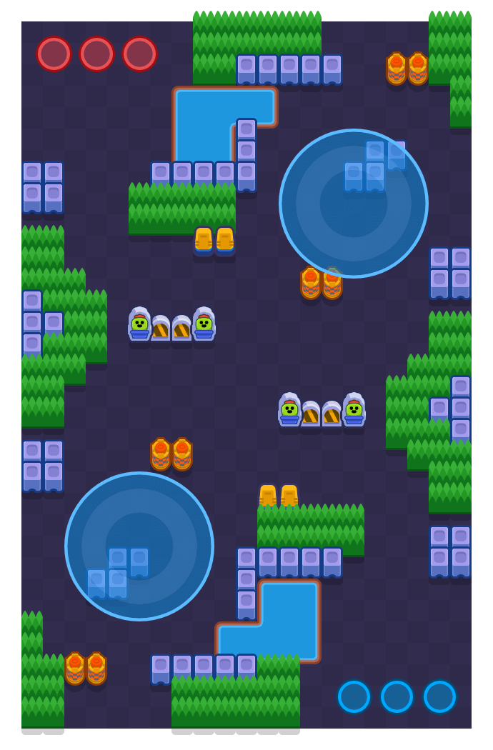Parallel Plays is a Hot Zone map in Brawl Stars.