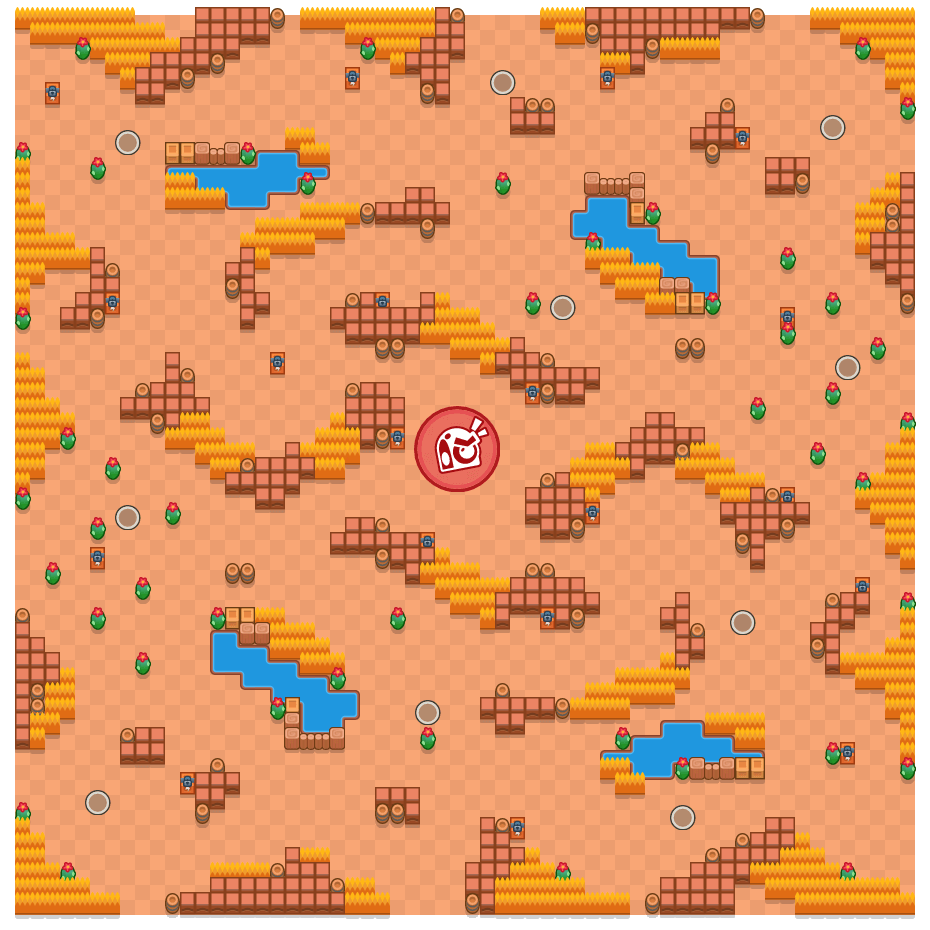 Peak Oil is a Takedown Brawl Stars map. Check out Peak Oil's map picture for Takedown and the best and recommended brawlers in Brawl Stars.
