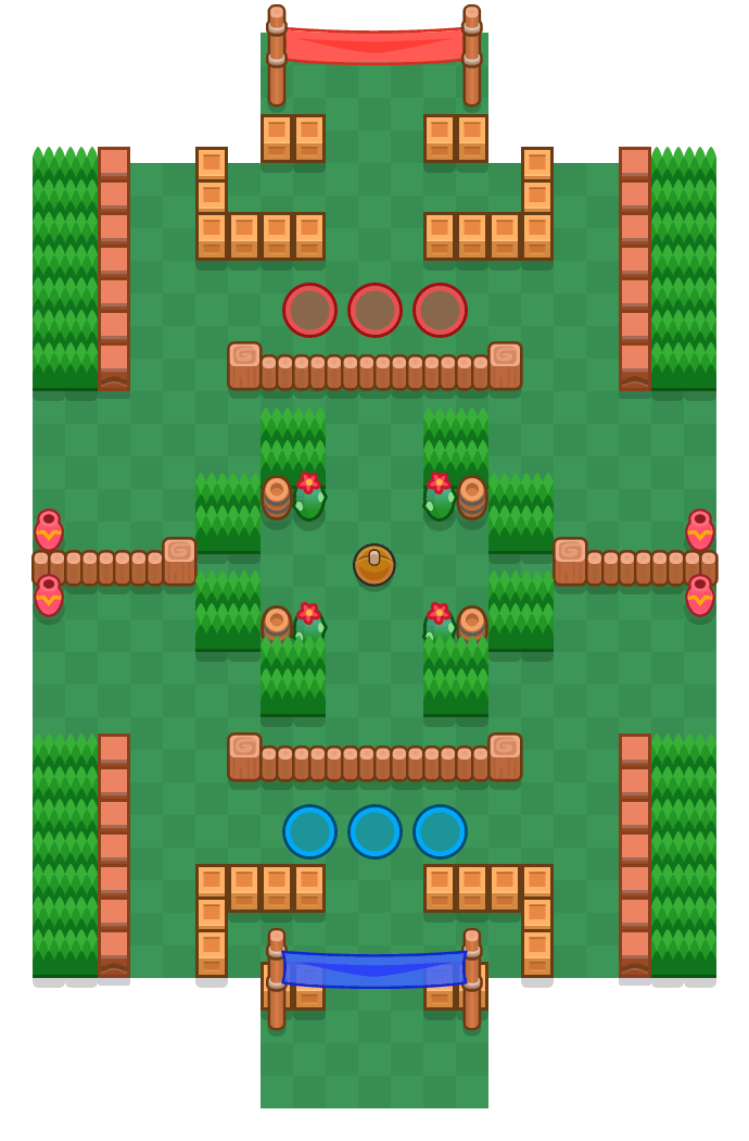 Strafschop is a Knokbal map in Brawl Stars.