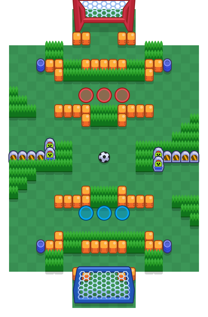 Pinball Dreams is a Brawl Ball Brawl Stars map. Check out Pinball Dreams's map picture for Brawl Ball and the best and recommended brawlers in Brawl Stars.