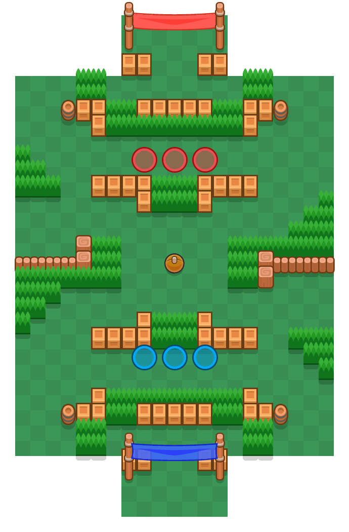 Flipper is a Brawlball map in Brawl Stars.