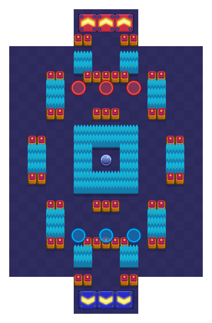 Pinhole Punt is a Brawl Ball Brawl Stars map. Check out Pinhole Punt's map picture for Brawl Ball and the best and recommended brawlers in Brawl Stars.