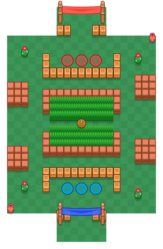 Playbox is a Brawl Ball Brawl Stars map. Check out Playbox's map picture for Brawl Ball and the best and recommended brawlers in Brawl Stars.