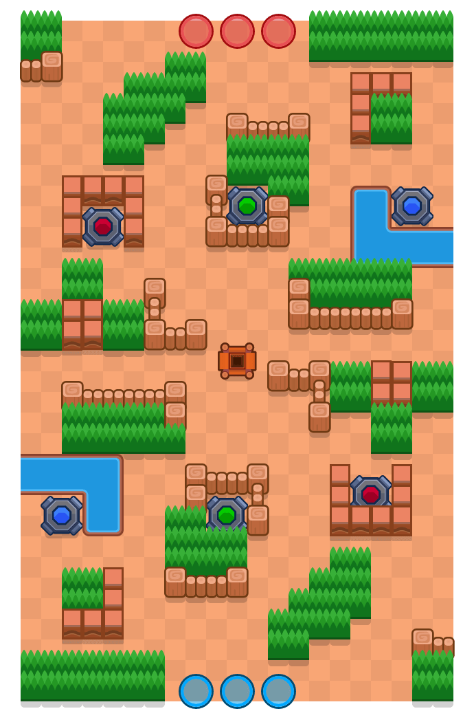 Portal Overload is a Gem Grab Brawl Stars map. Check out Portal Overload's map picture for Gem Grab and the best and recommended brawlers in Brawl Stars.