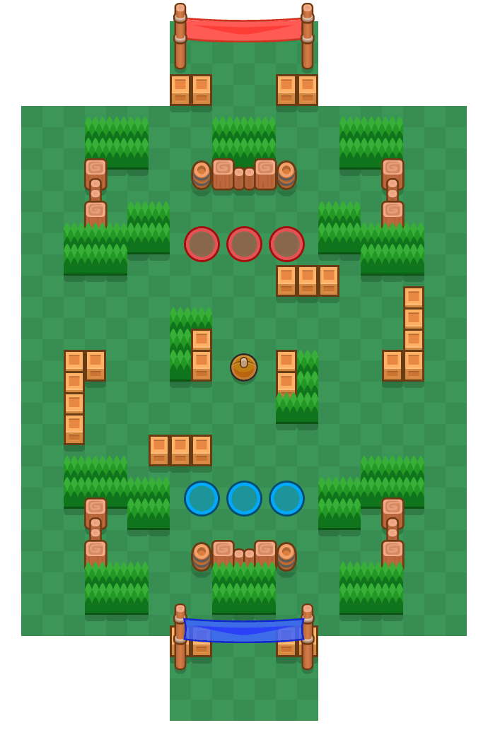 Post Haste is a Brawl Ball map in Brawl Stars.
