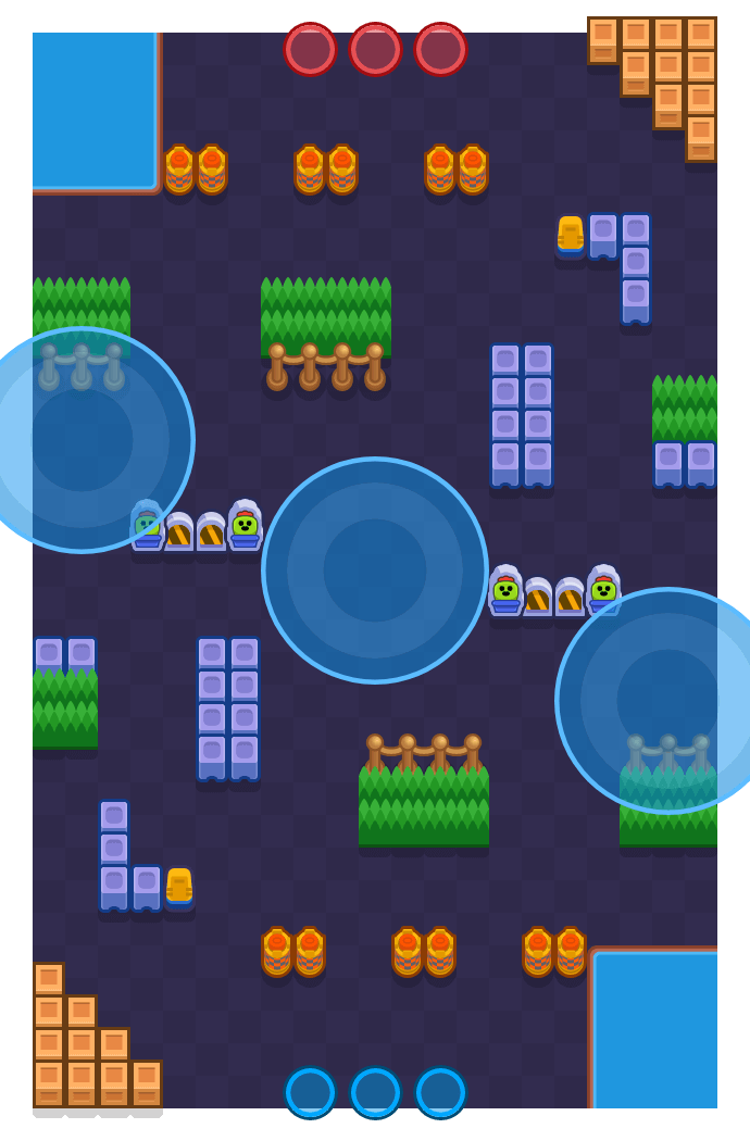 Quarter Pounder is a Hot Zone Brawl Stars map. Check out Quarter Pounder's map picture for Hot Zone and the best and recommended brawlers in Brawl Stars.