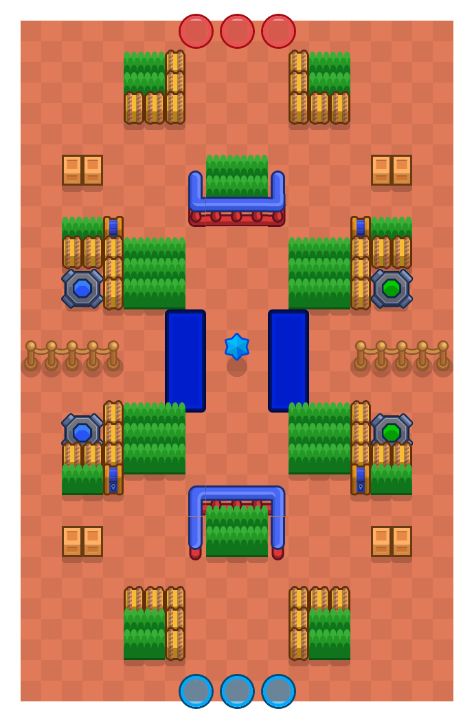 Quick Skip is a Bounty Brawl Stars map. Check out Quick Skip's map picture for Bounty and the best and recommended brawlers in Brawl Stars.