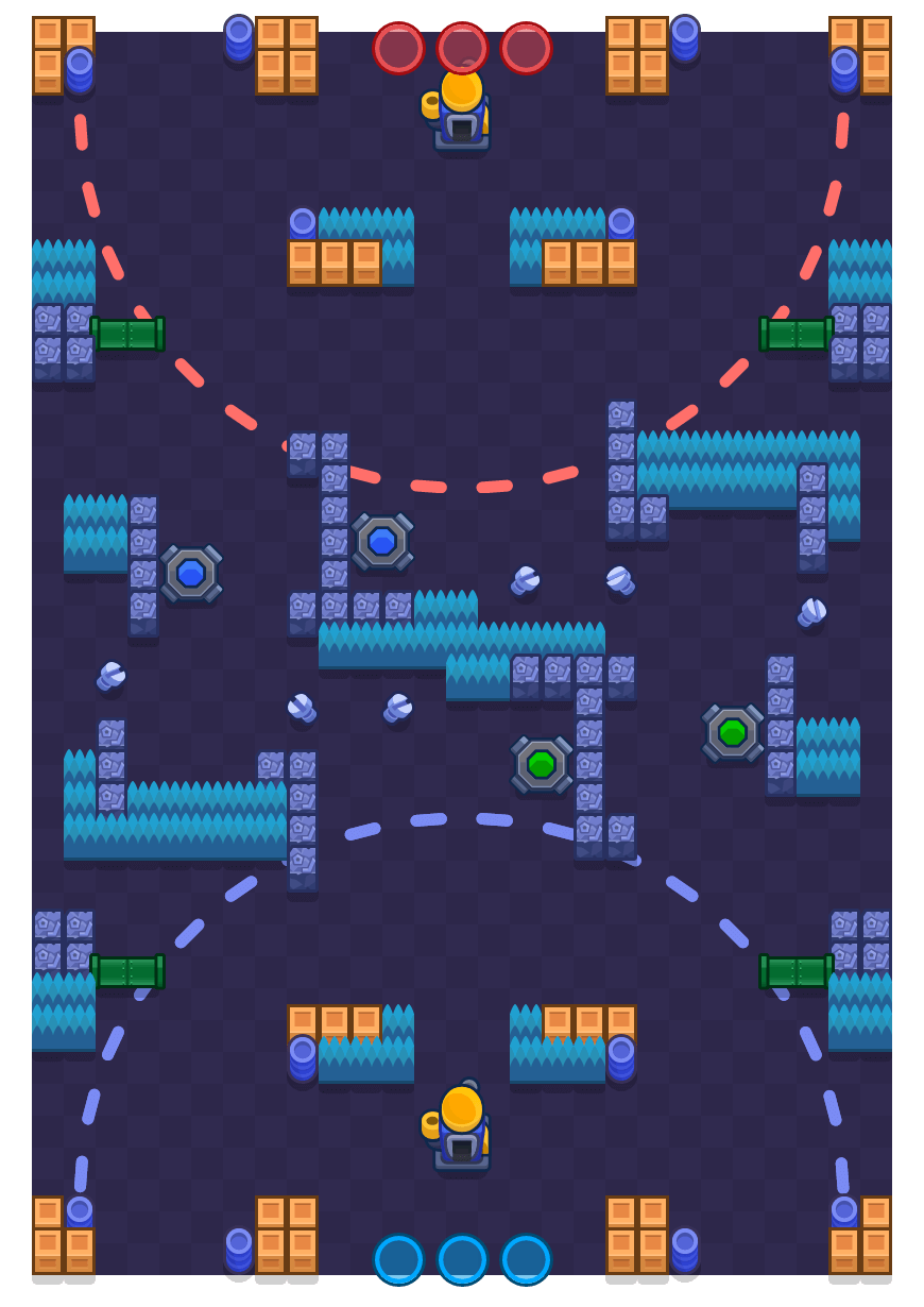 Robo Highway is a Siege map in Brawl Stars.