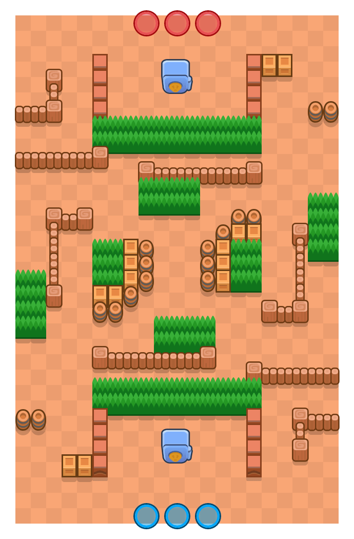 Rolling Rumble is a Heist Brawl Stars map. Check out Rolling Rumble's map picture for Heist and the best and recommended brawlers in Brawl Stars.