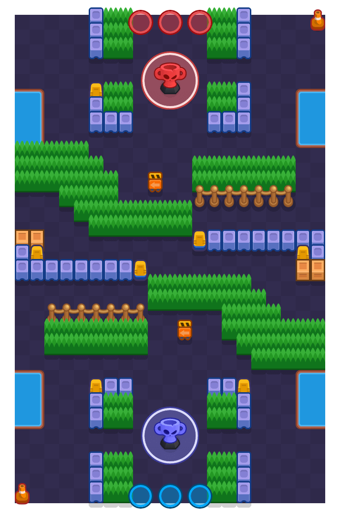 Roped In is a Trophy Thieves Brawl Stars map. Check out Roped In's map picture for Trophy Thieves and the best and recommended brawlers in Brawl Stars.