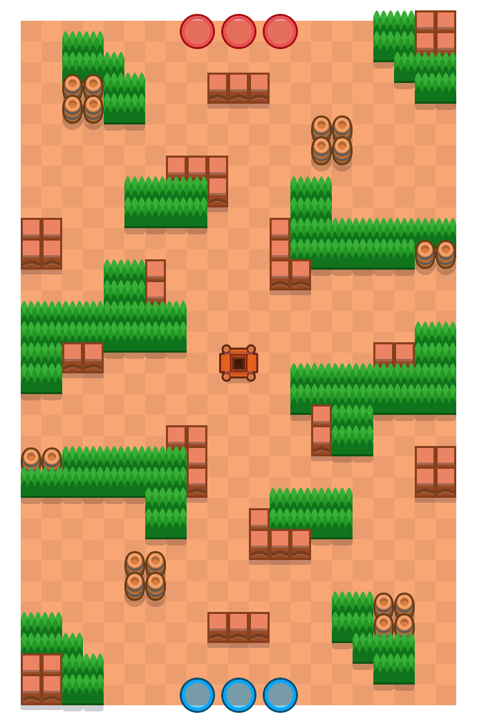 Royal Flush is a Gem Grab Brawl Stars map. Check out Royal Flush's map picture for Gem Grab and the best and recommended brawlers in Brawl Stars.