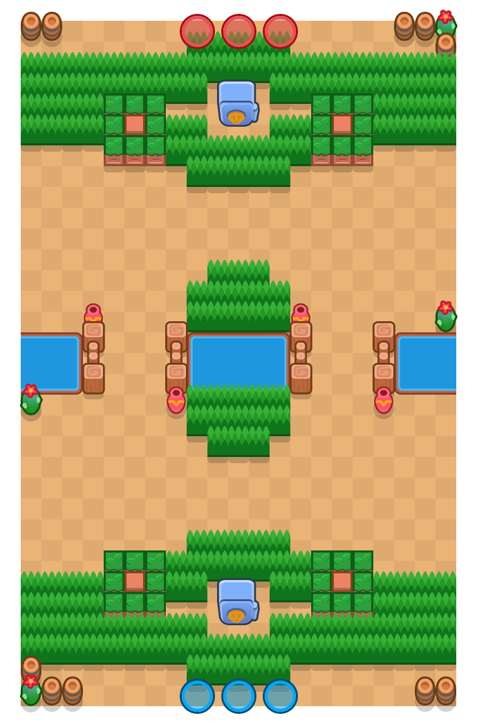 Arena real is a Atraco Brawl Stars map. Check out Arena real's map picture for Atraco and the best and recommended brawlers in Brawl Stars.