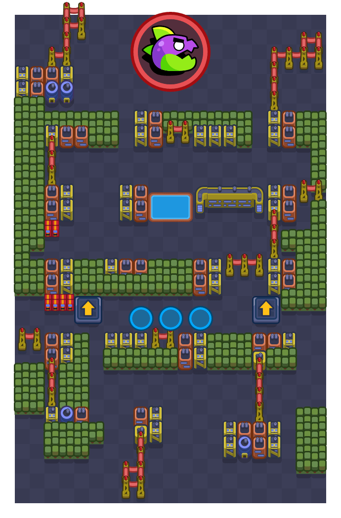 SUPER CITY is a Super City Rampage map in Brawl Stars.