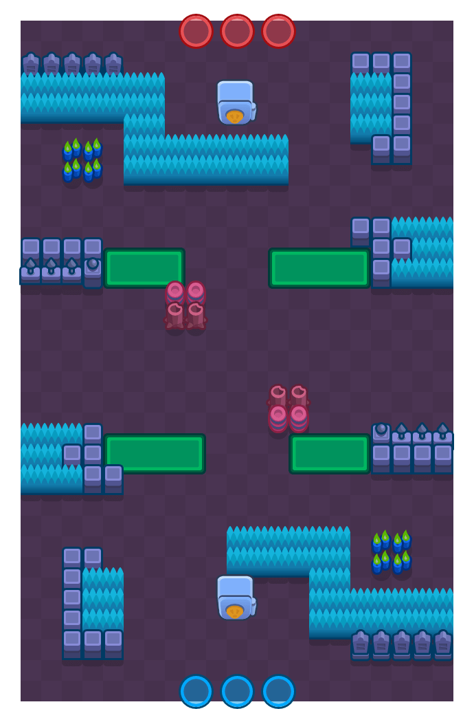 Safe Zone is a Heist Brawl Stars map. Check out Safe Zone's map picture for Heist and the best and recommended brawlers in Brawl Stars.