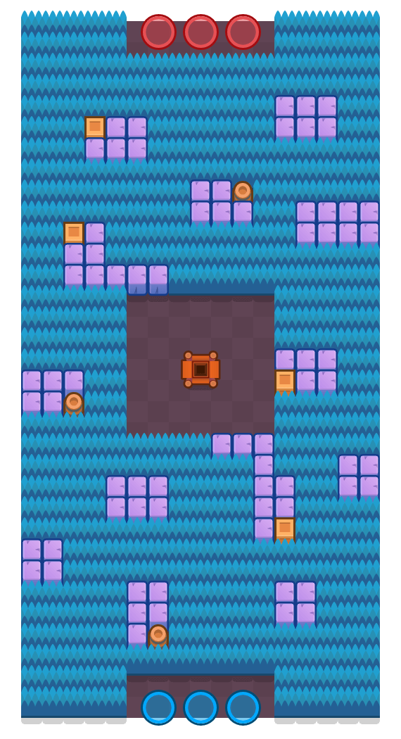 Sapphire Plains is a Gem Grab Brawl Stars map. Check out Sapphire Plains's map picture for Gem Grab and the best and recommended brawlers in Brawl Stars.