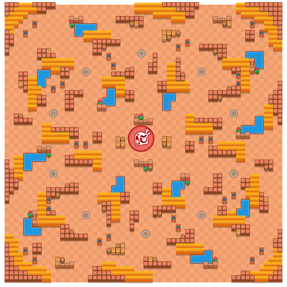 Scrap Metal is a Takedown Brawl Stars map. Check out Scrap Metal's map picture for Takedown and the best and recommended brawlers in Brawl Stars.