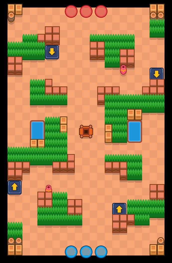 Überraschungsparty is a Juwelenjagd map in Brawl Stars.