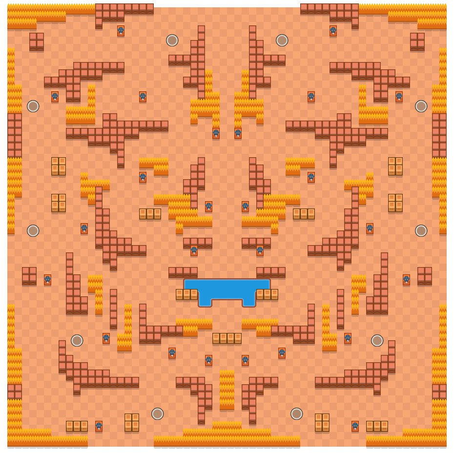 Shadow Spirits is a Solo Showdown Brawl Stars map. Check out Shadow Spirits's map picture for Solo Showdown and the best and recommended brawlers in Brawl Stars.