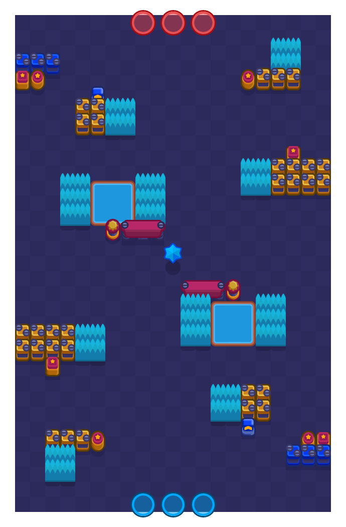 Shooting Star is a Bounty Brawl Stars map. Check out Shooting Star's map picture for Bounty and the best and recommended brawlers in Brawl Stars.