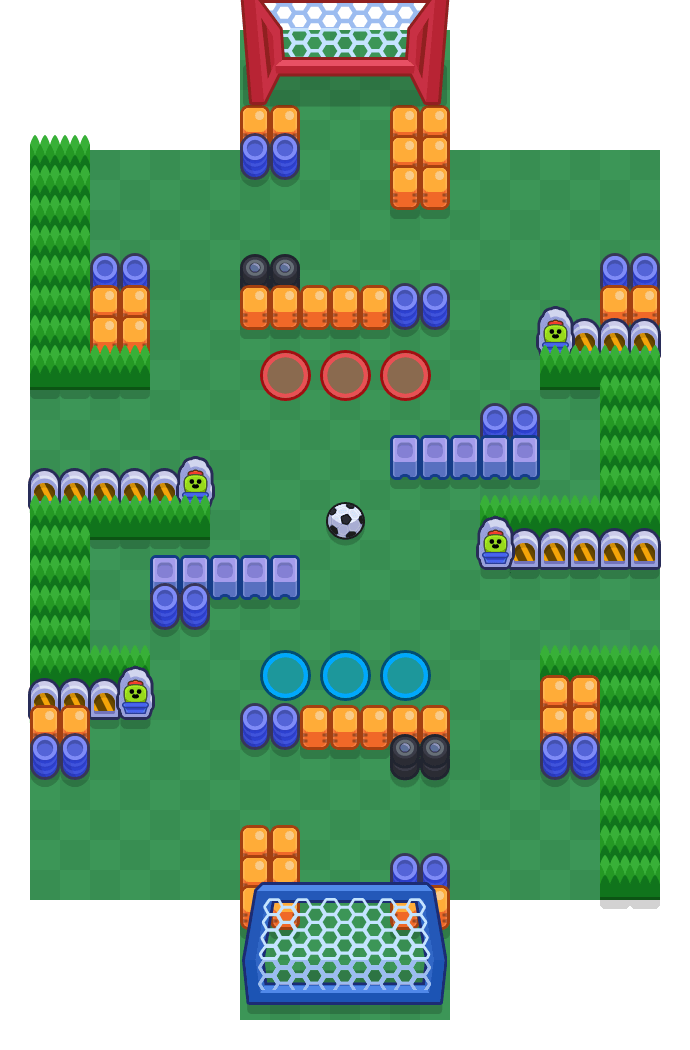 Shoulder Bash is a Brawl Ball map in Brawl Stars.