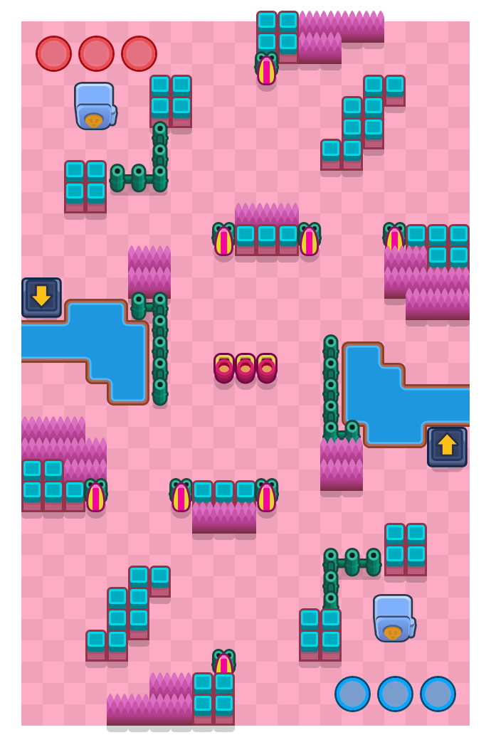 Reto retro is a Atraco Brawl Stars map. Check out Reto retro's map picture for Atraco and the best and recommended brawlers in Brawl Stars.