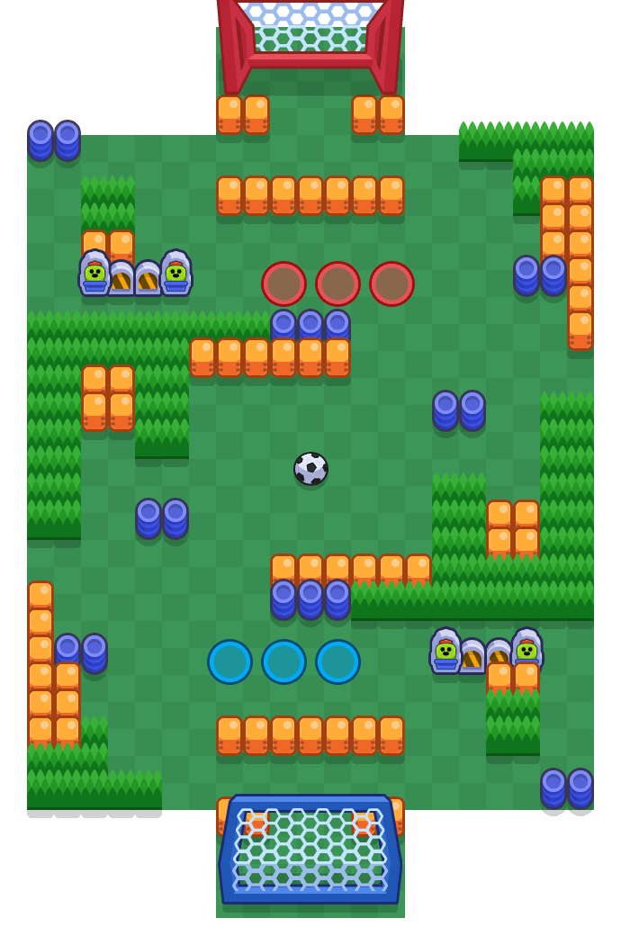 Seitenschlag is a Brawlball Brawl Stars map. Check out Seitenschlag's map picture for Brawlball and the best and recommended brawlers in Brawl Stars.