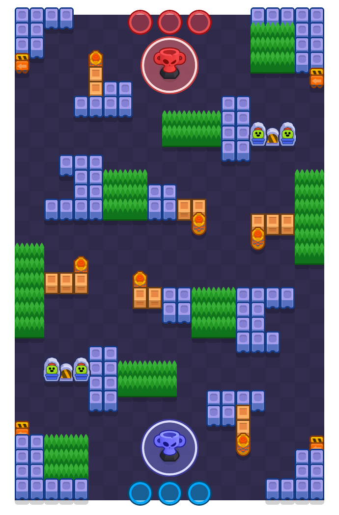 Smugglers is a Trophy Thieves map in Brawl Stars.