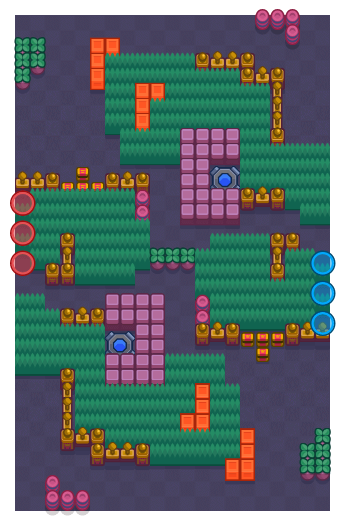 Snake Out is a Knockout map in Brawl Stars.