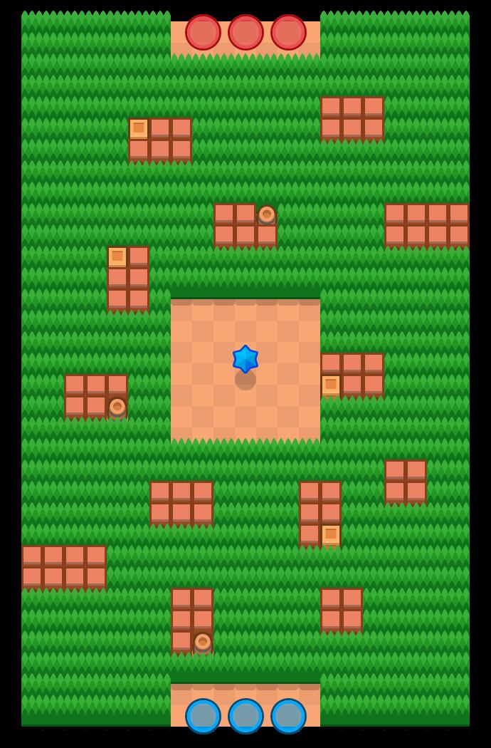 Snake Prairie is a Bounty map in Brawl Stars.