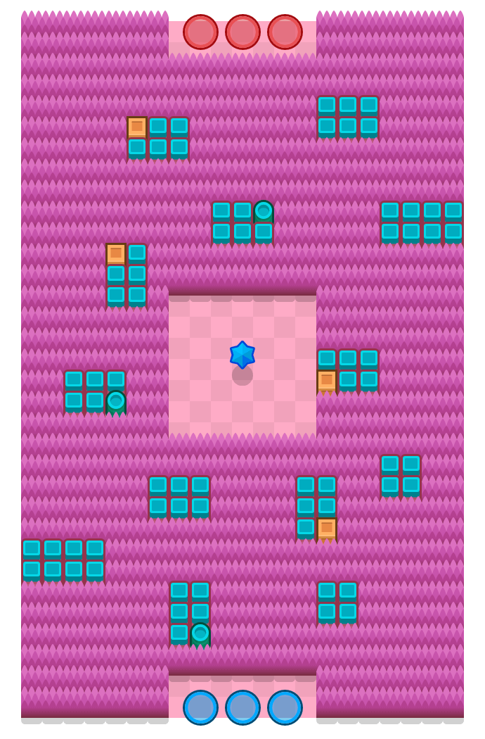 Snake Prairie is a Bounty Brawl Stars map. Check out Snake Prairie's map picture for Bounty and the best and recommended brawlers in Brawl Stars.