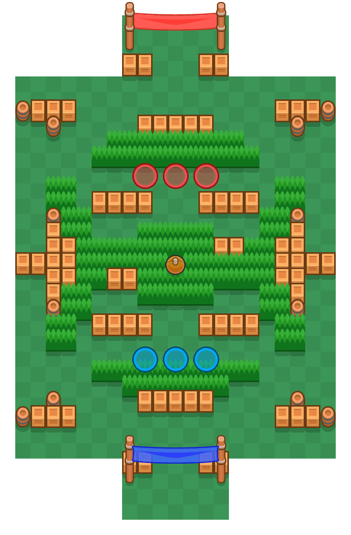 Sneaky Fields is a Brawl Ball Brawl Stars map. Check out Sneaky Fields's map picture for Brawl Ball and the best and recommended brawlers in Brawl Stars.