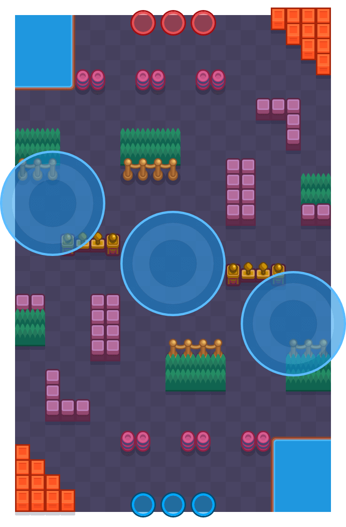 Snowball Fight is a Hot Zone Brawl Stars map. Check out Snowball Fight's map picture for Hot Zone and the best and recommended brawlers in Brawl Stars.