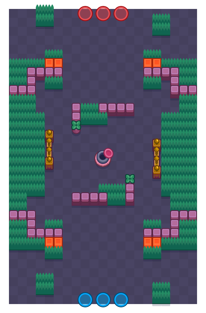 Sneeuwballengevecht is a Edelstenengraai Brawl Stars map. Check out Sneeuwballengevecht's map picture for Edelstenengraai and the best and recommended brawlers in Brawl Stars.