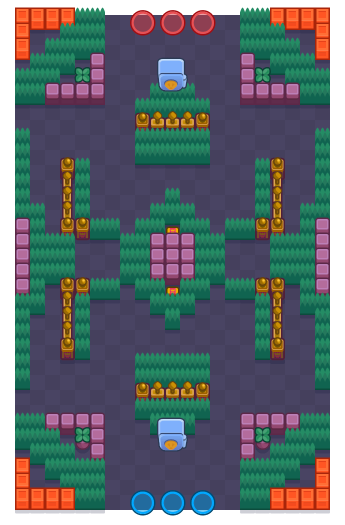 Gemas nevadas is a Atraco Brawl Stars map. Check out Gemas nevadas's map picture for Atraco and the best and recommended brawlers in Brawl Stars.