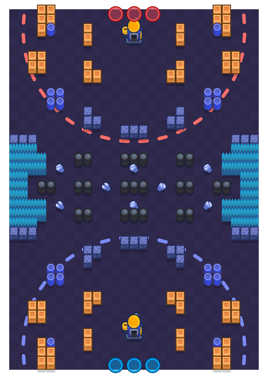 Some Assembly Required is a Siege map in Brawl Stars.