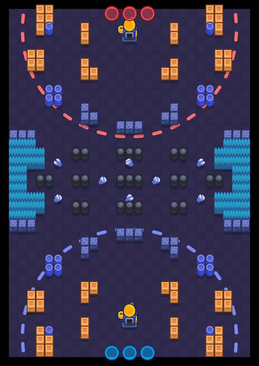 Montagem necessária is a Encurralado map in Brawl Stars.