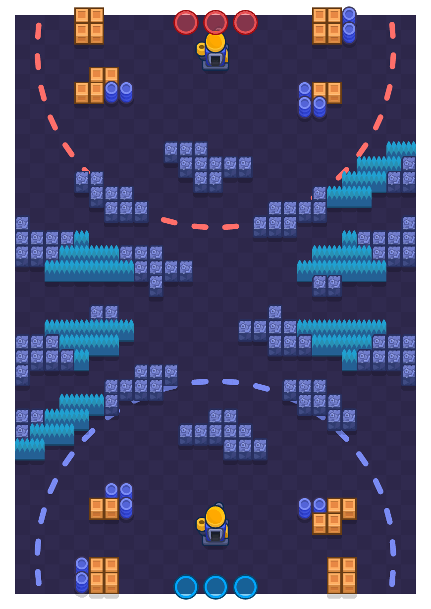 Sparring Match is a Siege Brawl Stars map. Check out Sparring Match's map picture for Siege and the best and recommended brawlers in Brawl Stars.