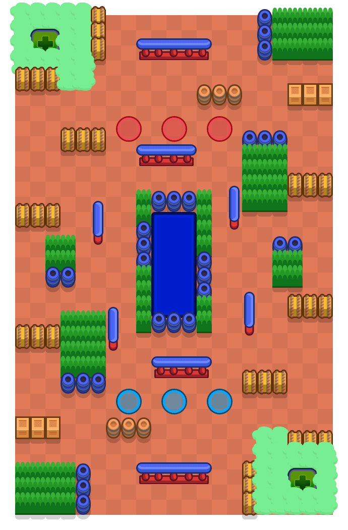 Splash Out is a Knockout map in Brawl Stars.