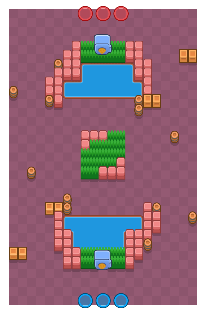 Segundo vital is a Atraco Brawl Stars map. Check out Segundo vital's map picture for Atraco and the best and recommended brawlers in Brawl Stars.