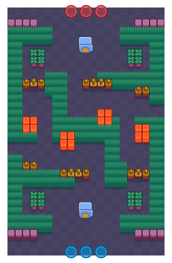 Cebollas frescas is a Atraco Brawl Stars map. Check out Cebollas frescas's map picture for Atraco and the best and recommended brawlers in Brawl Stars.