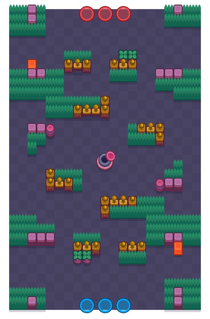 Spruce Up is a Gem Grab Brawl Stars map. Check out Spruce Up's map picture for Gem Grab and the best and recommended brawlers in Brawl Stars.