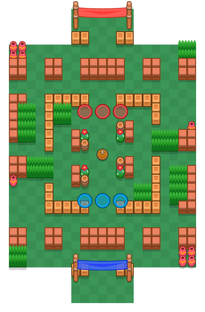 Square Off is a Brawl Ball Brawl Stars map. Check out Square Off's map picture for Brawl Ball and the best and recommended brawlers in Brawl Stars.