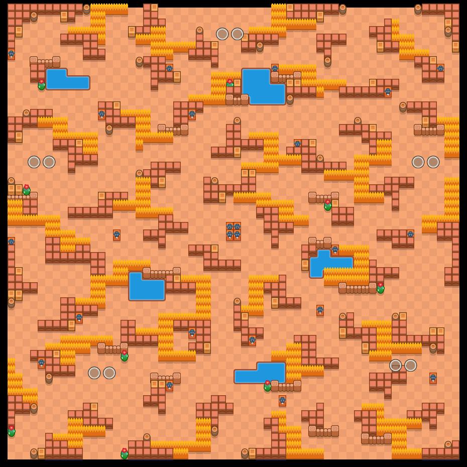低矮圍欄 is a 雙人荒野生死鬥 map in Brawl Stars.