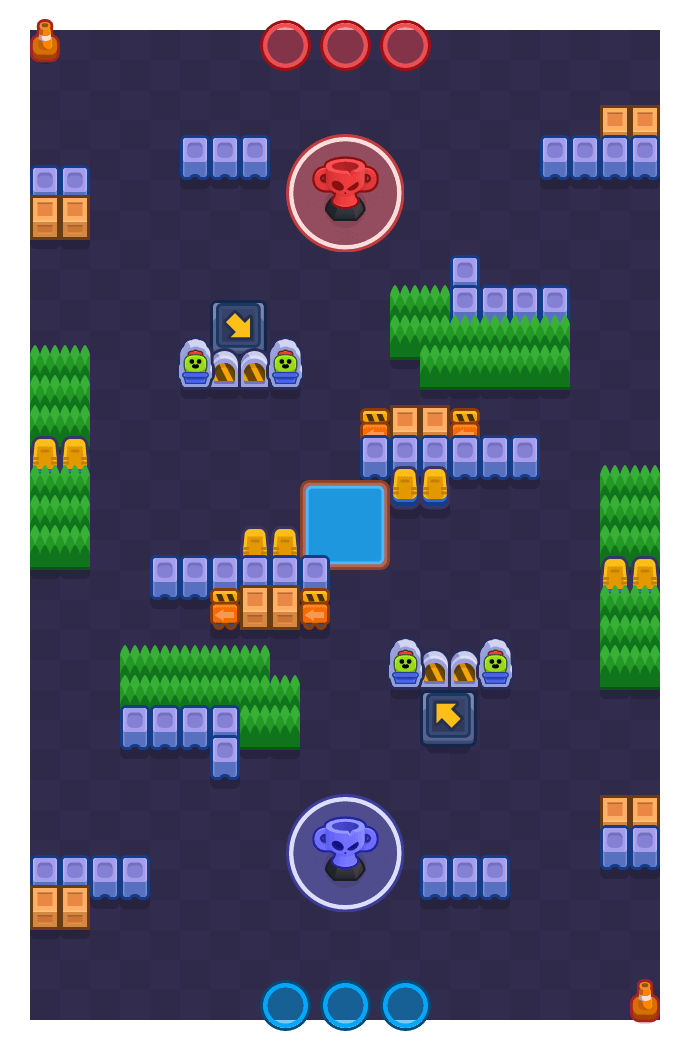 Stolen Valor is a Trophy Thieves Brawl Stars map. Check out Stolen Valor's map picture for Trophy Thieves and the best and recommended brawlers in Brawl Stars.
