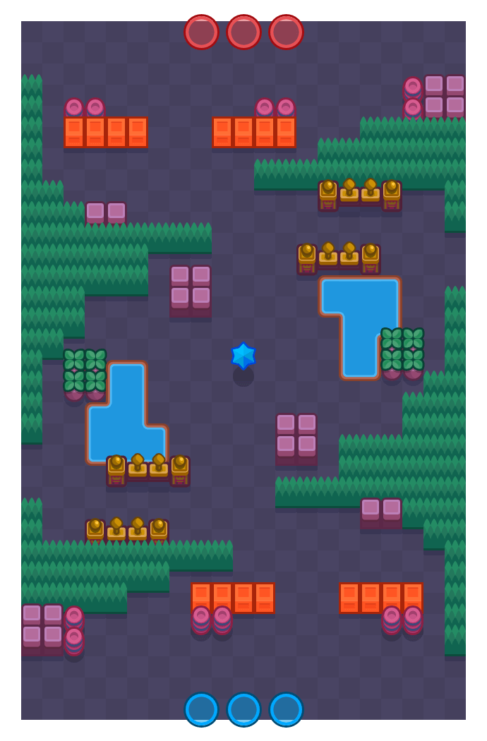 Storm Attack is a Bounty map in Brawl Stars.