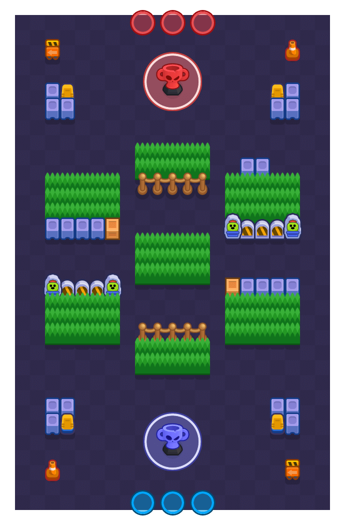 Straight Up Racket is a Trophy Thieves Brawl Stars map. Check out Straight Up Racket's map picture for Trophy Thieves and the best and recommended brawlers in Brawl Stars.