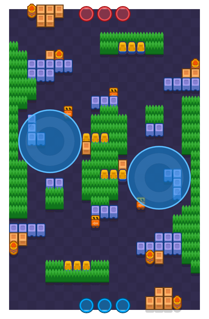Street Brawler 2 is a Hot Zone map in Brawl Stars.